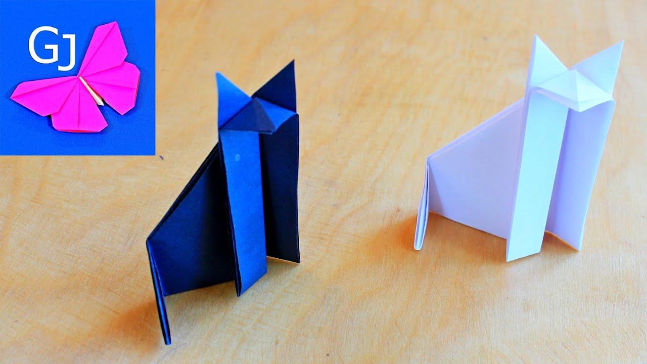 Как сделать из бумаги простых поделки