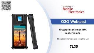 Fingerprint scanner, NFC reader in one - Mobile Electronics show