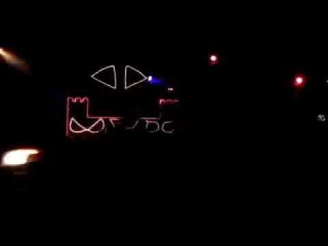 2011 Halloween Light Show Diary Intro_Crazy Train