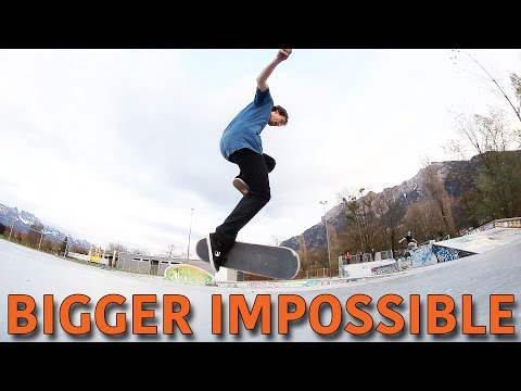 Bigger Impossible! | Rodney Mullen Challenge