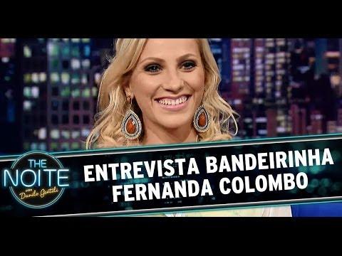 The Noite 06/06/14 (parte 1) - Entrevista Fernanda Colombo