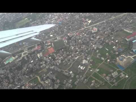 Nepal Airlines Kathmandu Take off