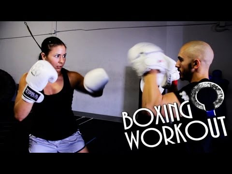 Boxing Workout - MMA fighter training with Kerry Vera Image 1