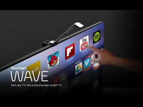 Touchjet WAVE - Turn any TV into a giant touchscreen