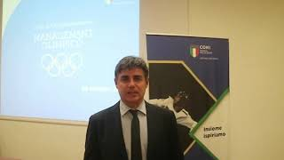 Corso di Alta Specializzazione in Management Olimpico - Angelo Cito