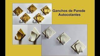 Ganchos de Parede Autocolantes / Wall Hooks Stickers