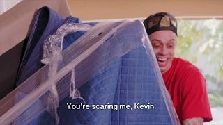 Moving with Pete Davidson and Kevin Hart - REAL RocknRoll Movers! What The Fit Episode S2 E2