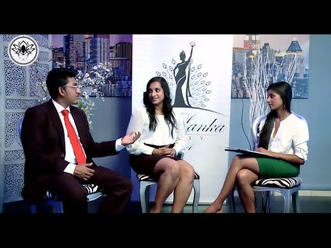 Miss Sri Lanka Italy - Presentation Interview In Sinhala & English video