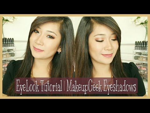 Eyelook Tutorial   Makeupgeek Eyeshadows (collab With Rustyshoes92)   Dygans90 video