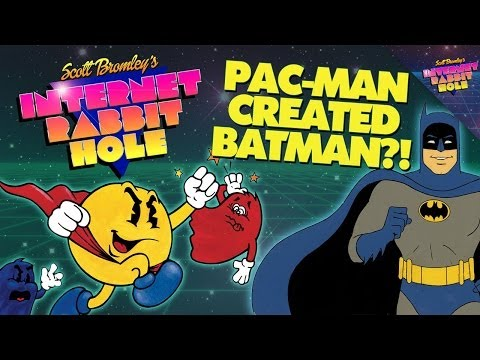 How Pac-Man Helped Make Batman Awesome!  SCOTT BROMLEY'S INTERNET RABBIT HOLE