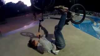 How to land a BMX tailwhip - learning - training trick :-)