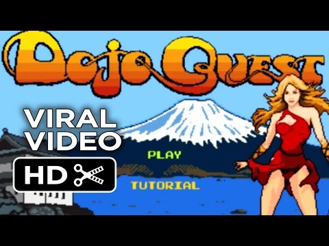 Pixels VIRAL VIDEO - Dojo Quest Game Trailer (2015) - Ashley Benson, Adam Sandler Movie HD