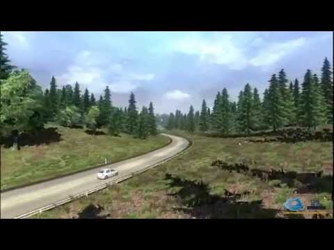 Romanian map ETS2 ( Euro Truck Simulator 2 )