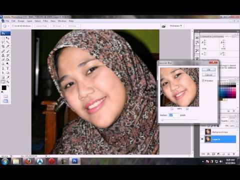 Edit Photo Tutorial Photoshop Menghaluskan Wajah Menghilangkan Jerawat