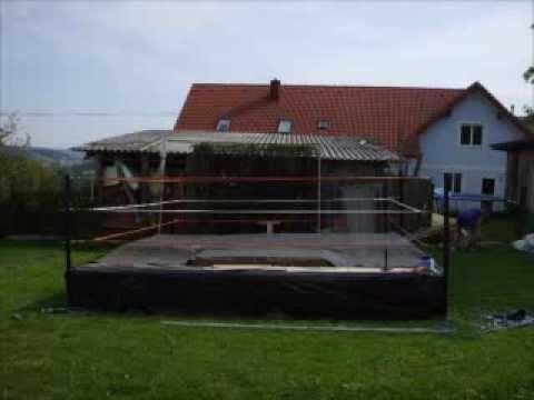 Homemade Wrestling Ring