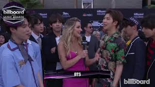 Bts talks love of latin pop and show of BBMAs Victory dance -2018
