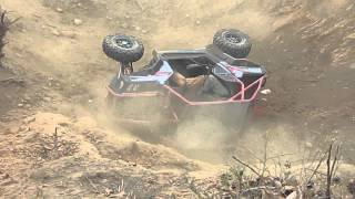 Justin Frasure abuses his RZR 2012 RBD