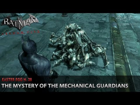 Batman: Arkham City - Easter Egg #28 - The Mystery of the Mechanical Guardians