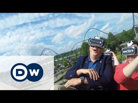 Захватывающая виртуальная реальность на аттракционах