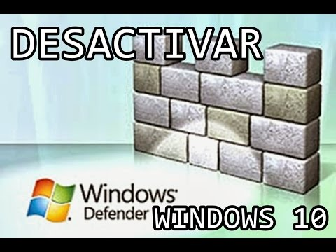 Tutorial Desactivar Windows Defender en Windows 10