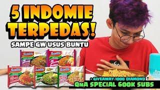 Download Lagu Makan 5 INDOMIE TERPEDAS Sampe USUS BUNTU! +Giveaway 1000 DIAMOND & - QnA SPECIAL 600K! Gratis STAFABAND