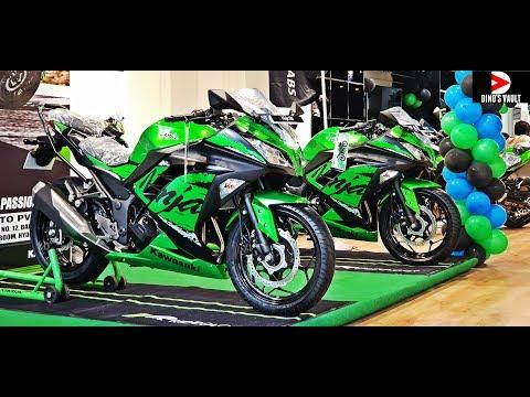 Taking Delivery of Kawasaki Ninja 300 ABS #DinosVlogs