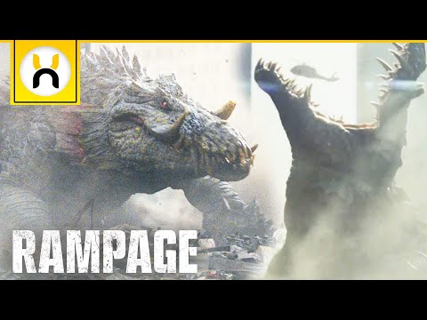 Rampage Lizzie the Lizard Explained
