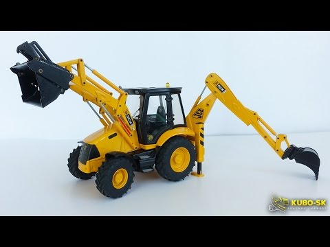 JCB 3CX JOAL 1/25 - backhoe model review