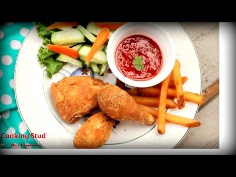 Crispy Fried Chicken    Bangladeshi Fried Chicken Recipe  Chicken Fry Bangladeshi Style