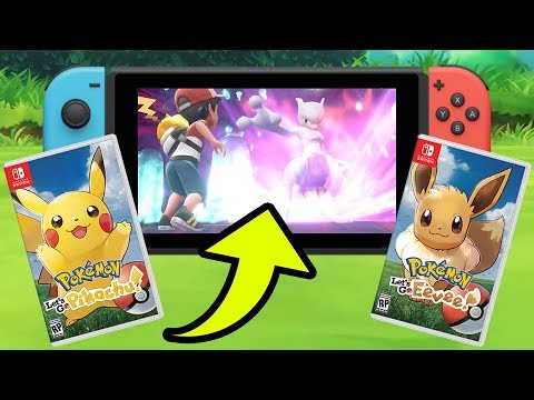 Pokemon: Let's Go Pikachu! and Let's Go Eevee OFFICIAL TRAILER REACTION + ANALYSIS! Nintendo Switch