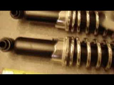 VW Bug or Dune Buggy Coil Over Shocks for Stock VW Suspension
