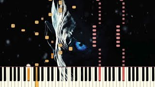 The Night King - Game of Thrones | Piano Tutorial (Synthesia)