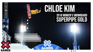Chloe Kim wins Women's Snowboard SuperPipe gold  X Games Aspen 2018
