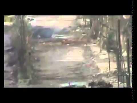Syria - Homs - Al Aqrabas - 20120413 - BMP violates cease-fire plan
