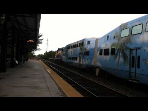 Tri-Rail and CSX Action at Deerfield Beach