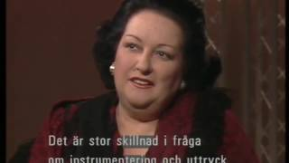 Montserrat Caballe About Freddie Mercury And Opera Jacobs Stege Sweden 03 12 1988