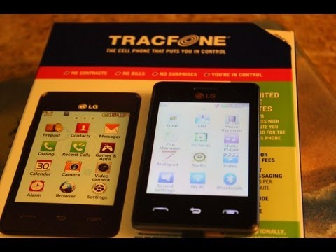 LG 840G Tracfone unboxing - The Lighthouse Lady