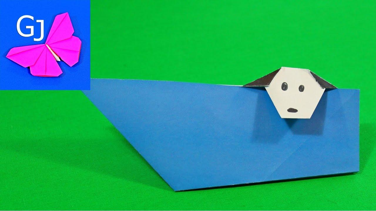 Оригами поделки из бумаги конверт