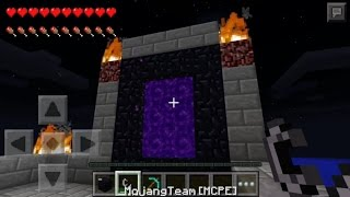 Minecraft Pocket Edition 0.12.0 The NETHER & END CONCEPT!