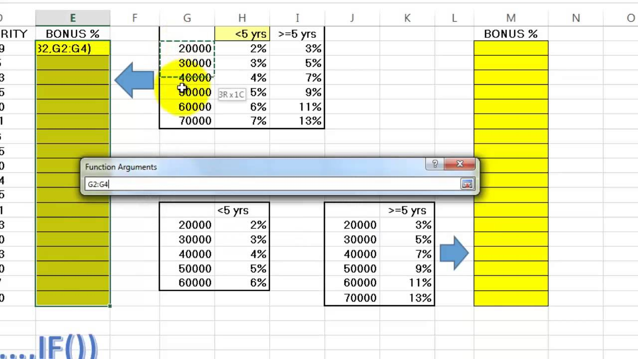 nested functions in excel youtube