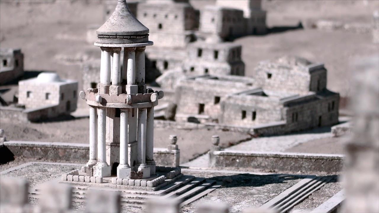Maquete da Cidade antiga de Jerusalém. - Teaser Viagem com Caio - Israel 2017