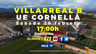 Promo Villarreal B vs UE Cornellà