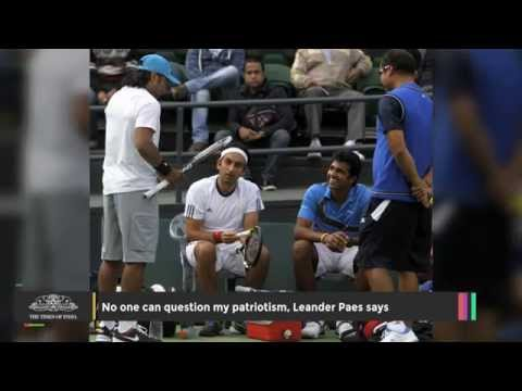 No One Can Question My Patriotism, Leander Paes Says - TOI