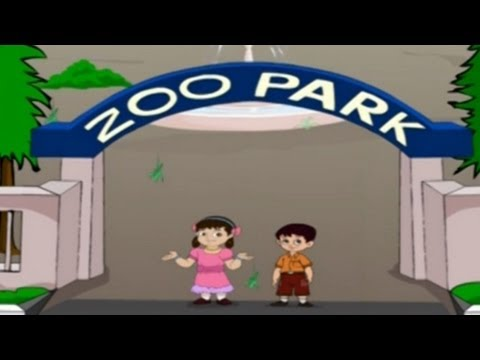 English Rhymes - Zoo - Kids Pre play School - Telugu Nursery Rhymes video
