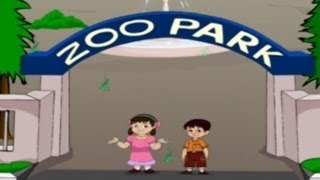 English Rhymes - Zoo - Kids Pre/Play School - Telugu Nursery Rhymes