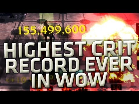 Swifty Highest Crit Record Ever in wow (Give-away)