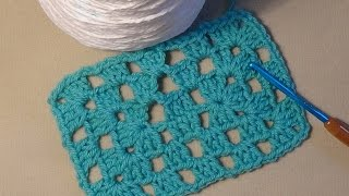 "How to Crochet the ""Rectangle Granny"""