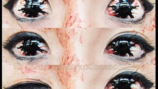 REVIEW: Sclera Lenses - Phantasee White Sclera lens Locus (Sponsored by UNIQSO)