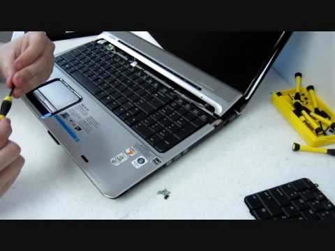 How to replace a keyboard on a HP Pavilion DV9000 432976-001