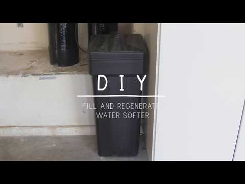 How To Fill And Regenerate Your Water Softener